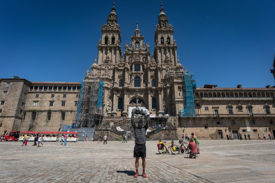 """After completing the Camino Frances in 2012, I put together a list of the """"10 Most Important Gear Items to Bring On Camino De Santiago"""". That post has turned out to be one of the most popular gear lists that I've published on Trail to Peak. As much as readers seem to love that post, I get a lot of follow-up questions about what my complete Camino gear list looked like. I just completed a hike of the Camino Portuguese last month, and decided the time was right to answer those questions with a comprehensive look at all the gear I brought with me."""