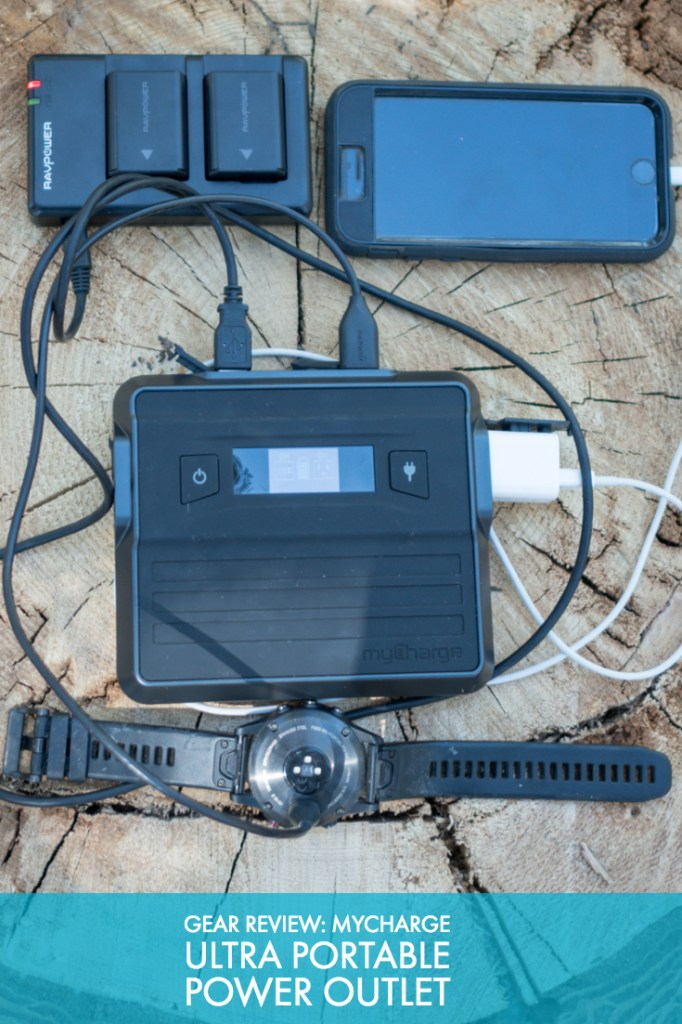 Gear Review: myCharge Ultra Portable Power Outlet
