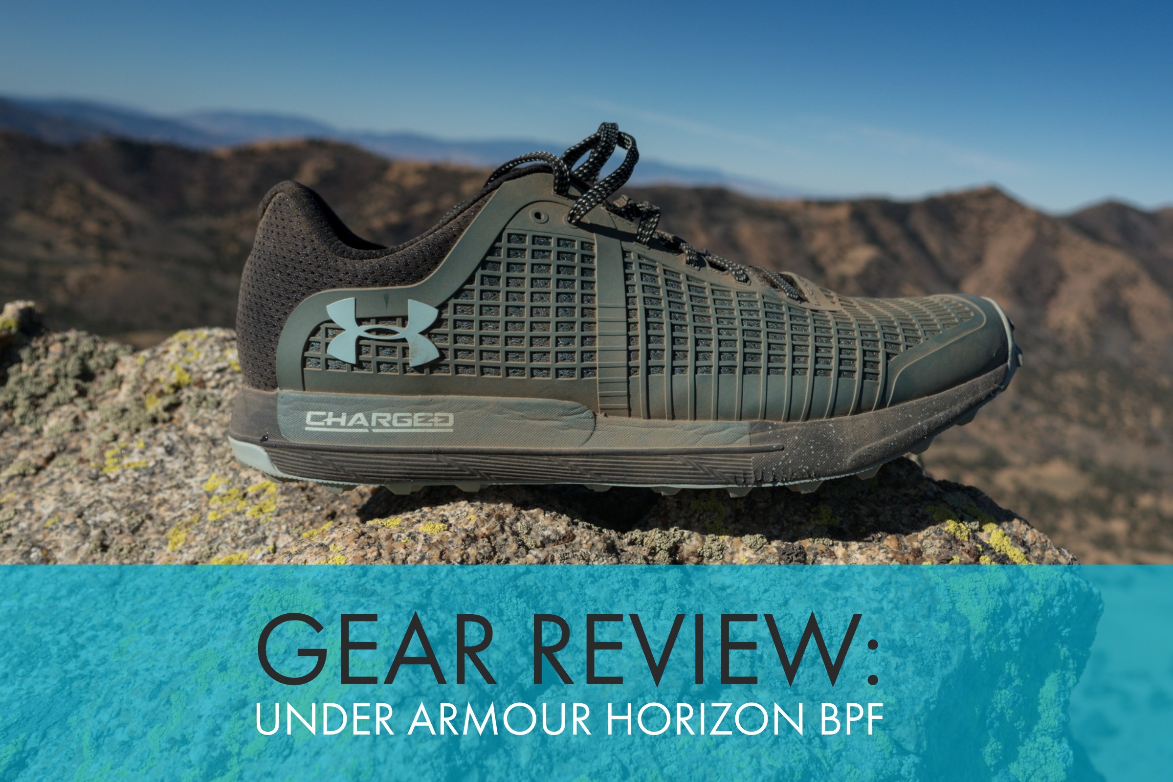 Under Armour Horizon BPF Trail Shoe