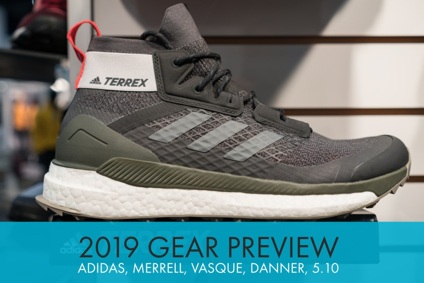 2019 Shoe Previews: Adidas Outdoor, Merrell, Vasque, Danner, and Five Ten