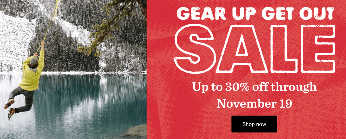 Don t Miss REI s Pre-Black Friday Gear Up Get Out Sale! - Trail to Peak dc817b93c