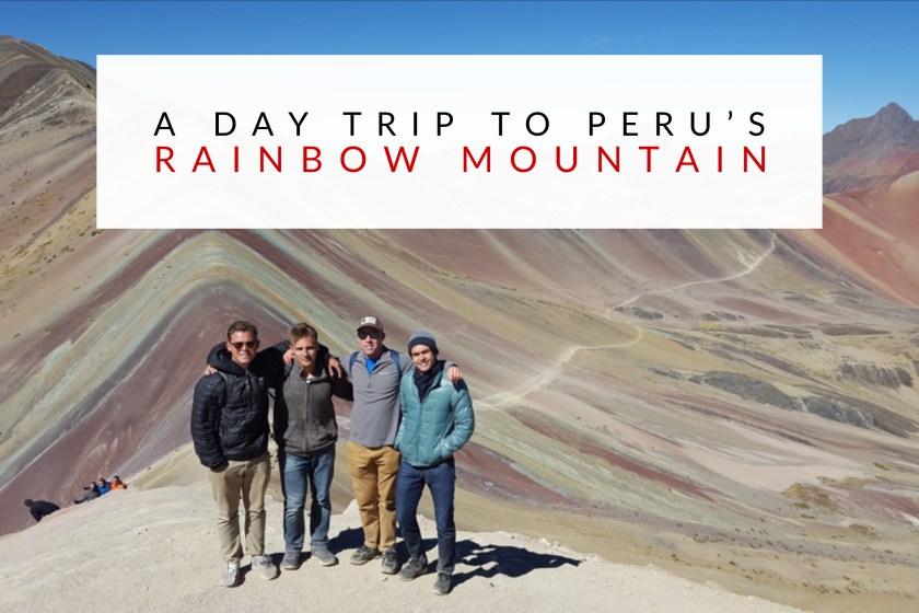 A Day Trip to Peru's Rainbow Mountain