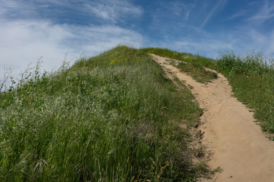 Hiking Bane Ridge Trail In Chino Hills State Park