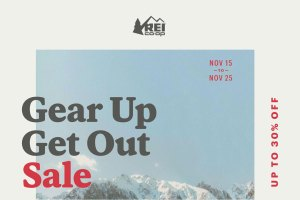 Save Up To 30% With The REI Gear Up Get Out Sale!