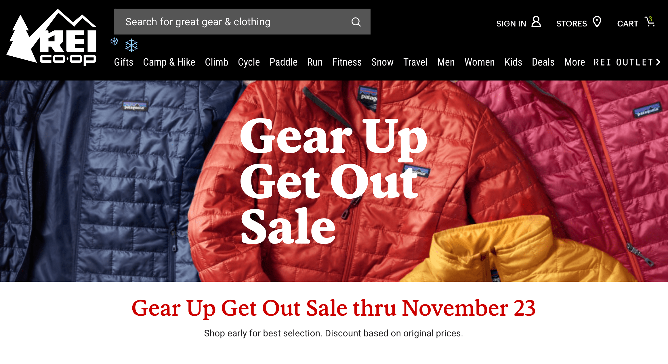My Top 10 Deals from REI's Gear Up Get Out Sale