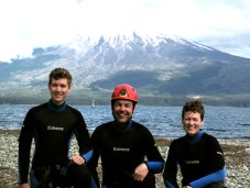 Canyoning in Chile, the land of volcanoes, was very fun.