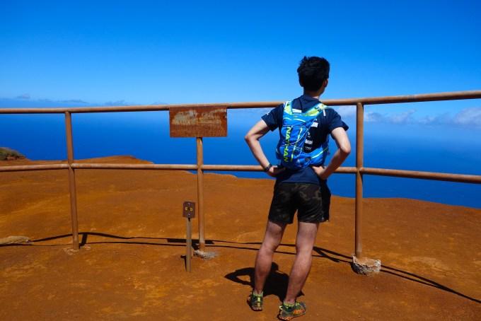 ハワイカウアイ島ヌアロロトレイルトレッキング遂にロロビスタに着いた
