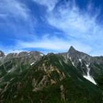 日本を代表する縦走路 北アルプス表銀座 燕岳・大天井岳・西岳