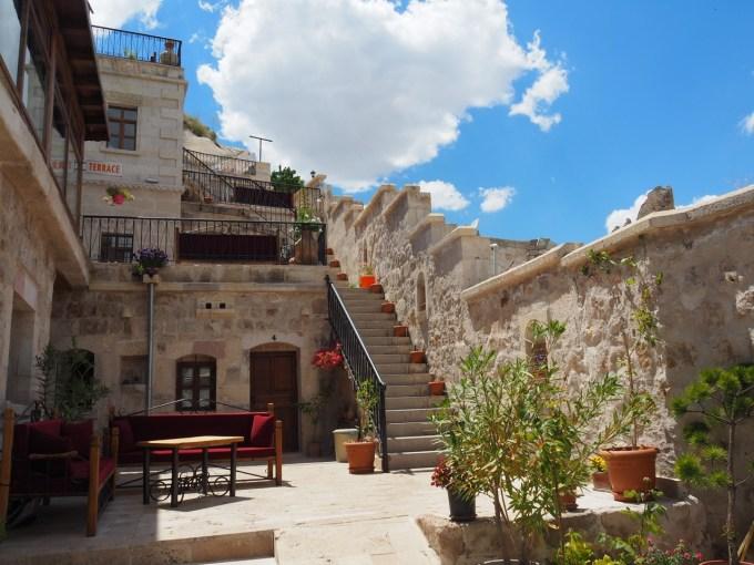 初日二日目に泊まったGedik Cave Hotel