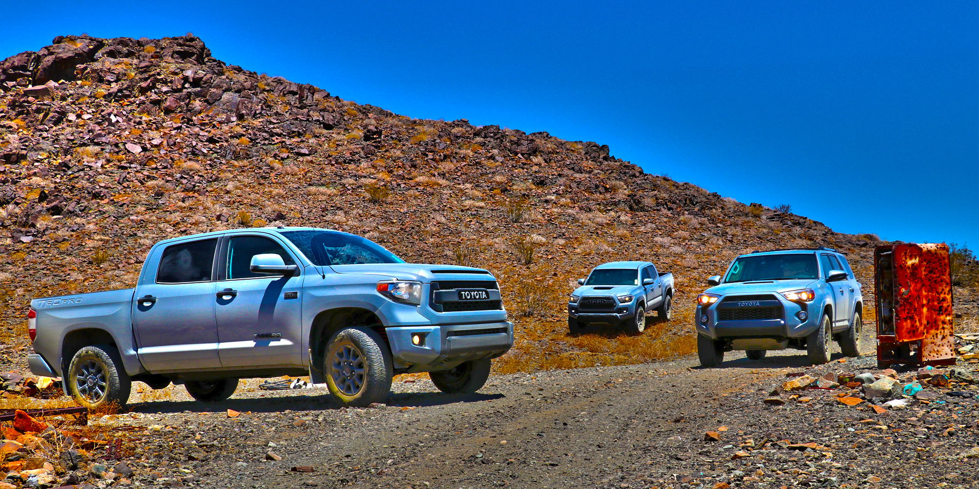 Toyota TRD Pro : Off-Road Adventure