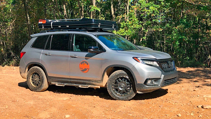 WTOP : 2019 Honda Passport is a spacious, 5-seat off-road crossover