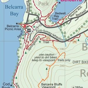 Coquitlam trail map