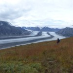 Observation Mountain Trail: The view of the Kaskawulsh Glacier, Kluane National Park, Yukon