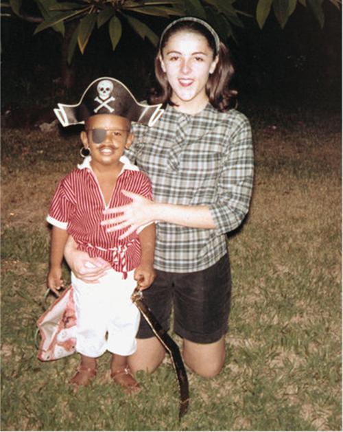1.1 Obama và mẹ