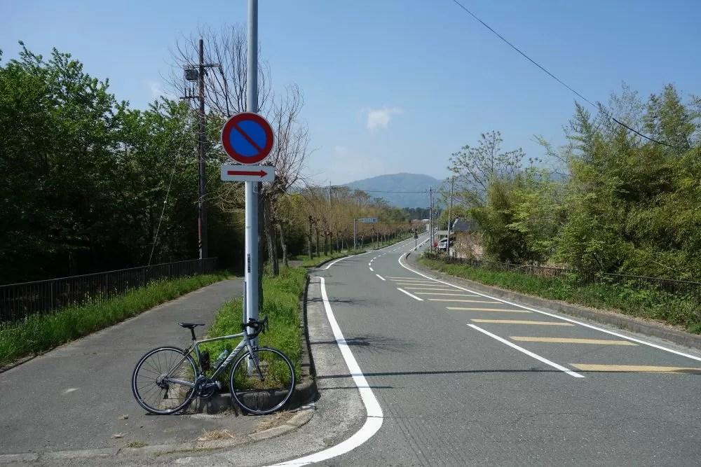 琵琶湖外周の道