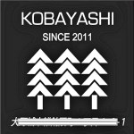 kobayashi様・黒いみどりヘッドマーク表札