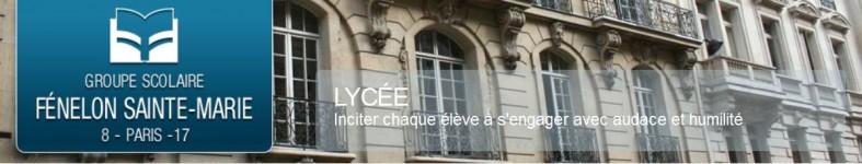Lycée Fénelon - Sainte Marie, Paris