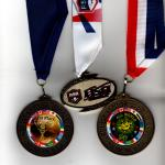 World Cup Medals with A.S.A. Medal in the center.