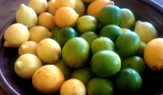lemons limes superfood