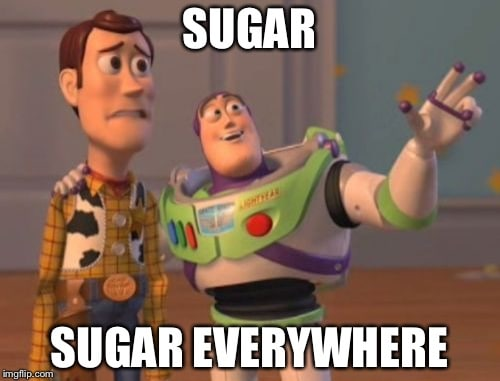 sugar withdrawal meme