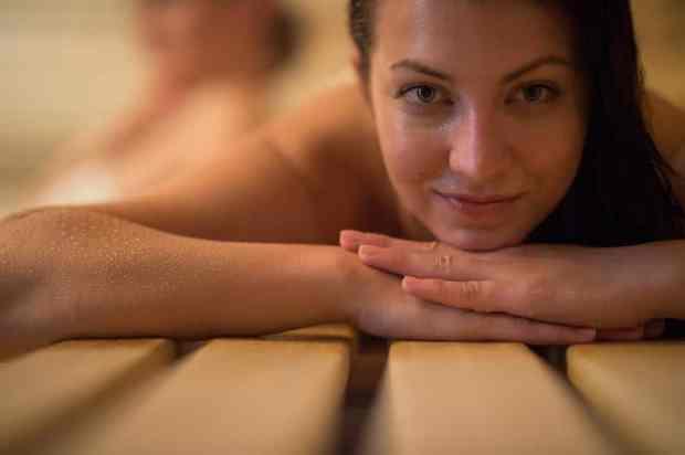 sauna anti aging