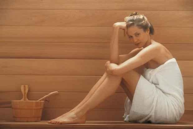 sauna mood boosting