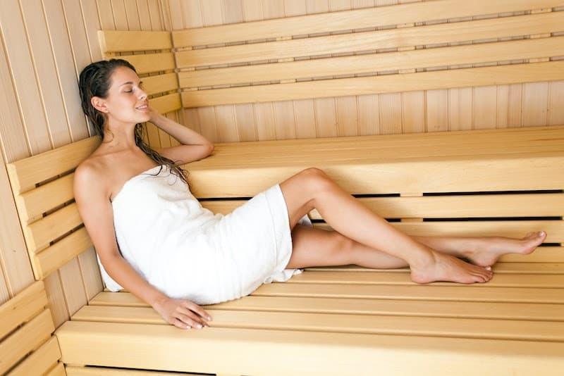 sauna weight loss tips