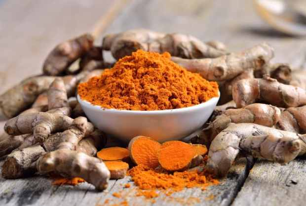 tumeric fights aging