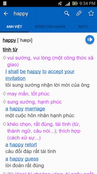 image013 337x600 - Top 4 ứng dụng tra từ điển Anh – Việt di động