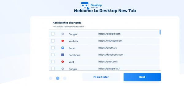 Desktop New Tab: Biến trang New Tab của Chrome giống màn hình desktop 3