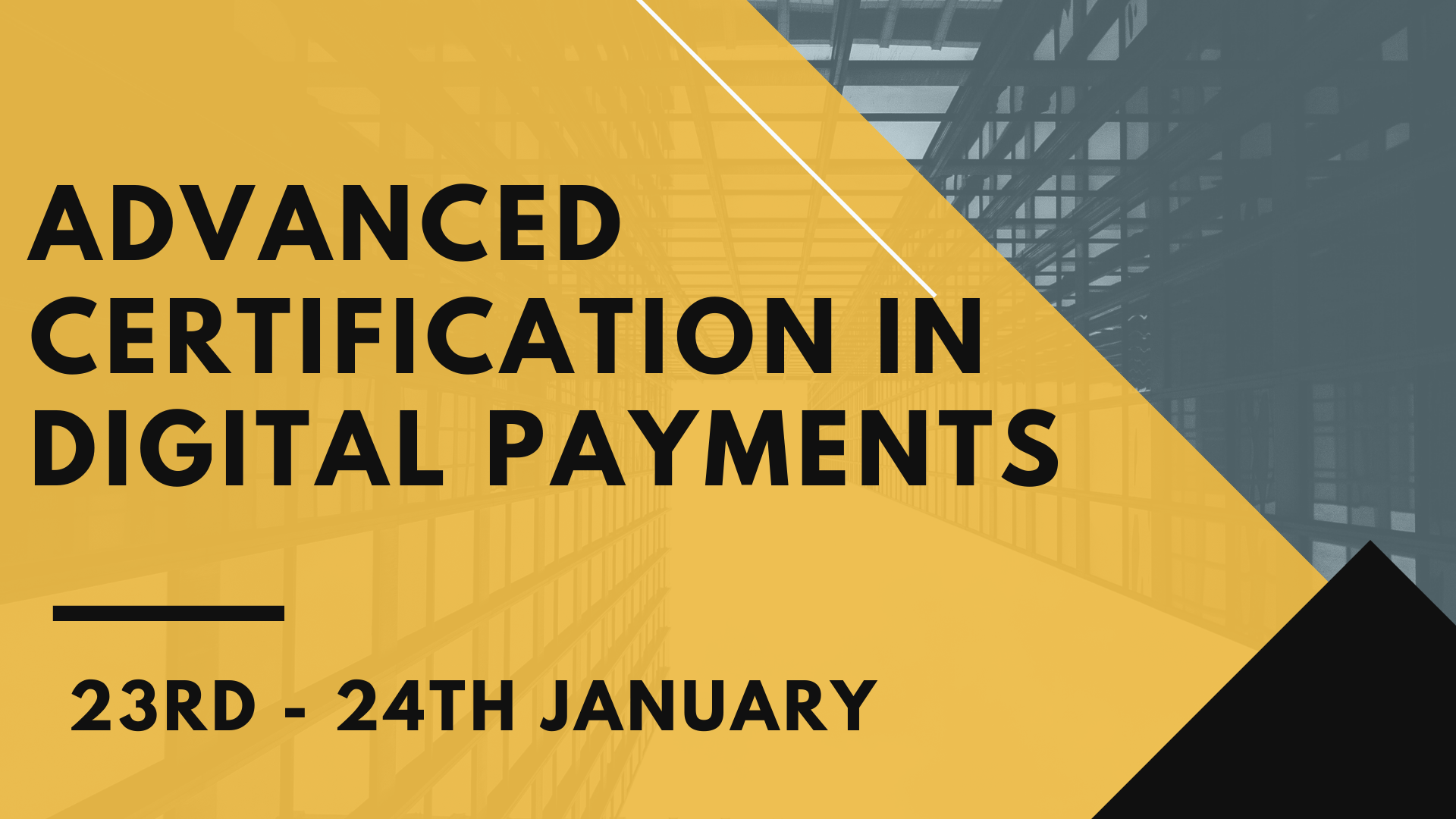 Advanced Certification in Digital Payments