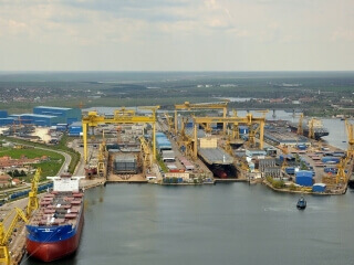Blue economy Damen Mangalia shipyard