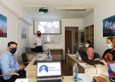Digital citizenship skills, September 2021, Constanta