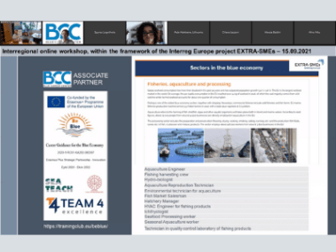 Blue Careers in aquaculture