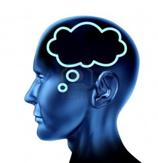 Bild tagen från http://www.123rf.com/photo_14119184_brain-thought-with-word-bubble-symbol-represented-by-an-isolated-human-head-looking-forward-as-busin.html