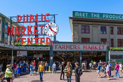 famous pike place fish