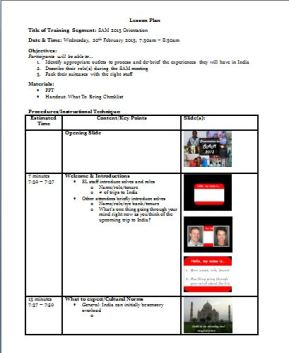 Training On Train Like A Champion - Dcps lesson plan template
