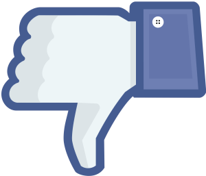 Facebook (Thumbs Down)