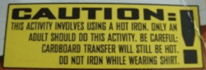 bad warning labels - do not iron
