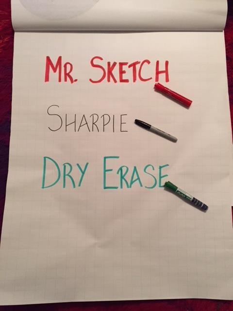 good flip chart markers