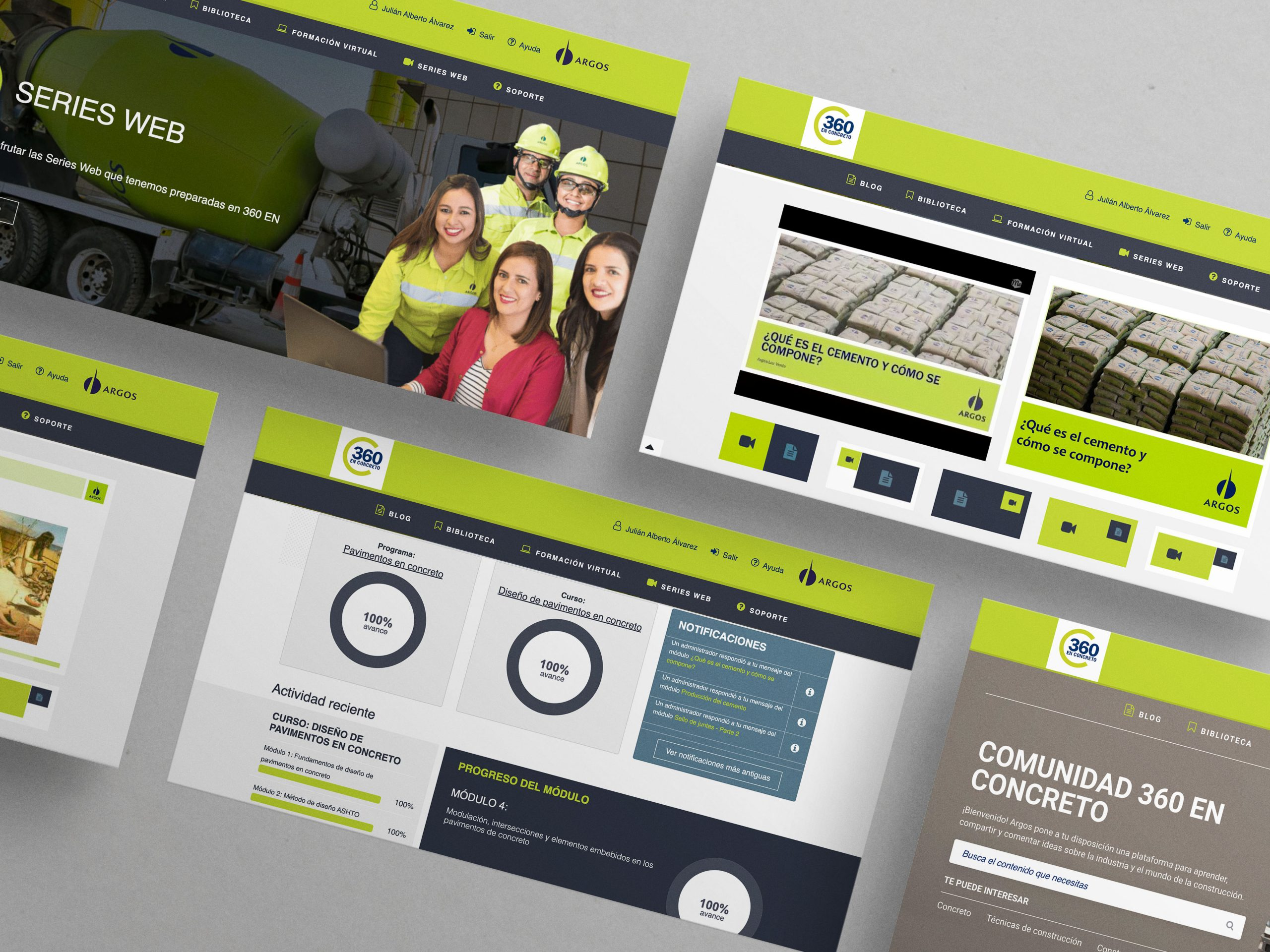 Minimal Clean Multiple Landing Page Website Psd Mockup
