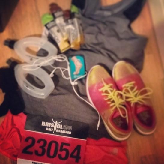 Preparing for my second race - Bristol Half Marathon 2014
