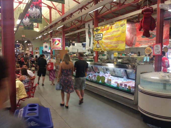 Inside Findley Market     (Photo by B. Wing)