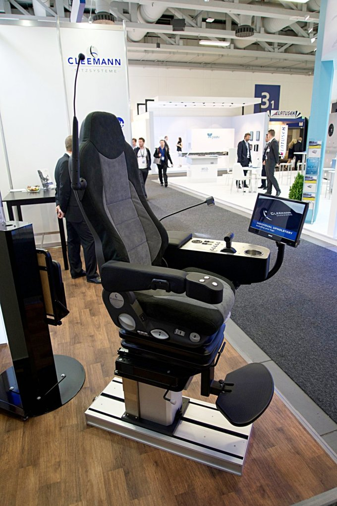 A driver's seat must be comfortable and offer total control.