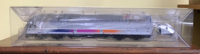 My new HO scale ALP-45DP locomotive
