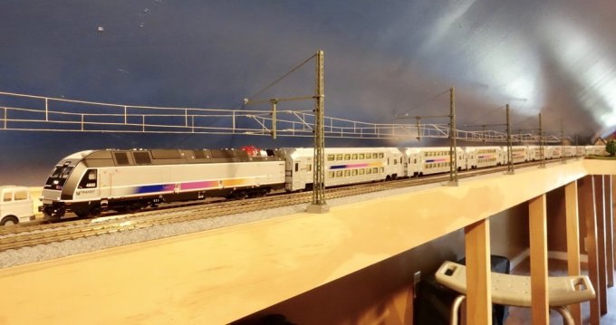The new Atlas Model Railroad Company New Jersey Transit train set