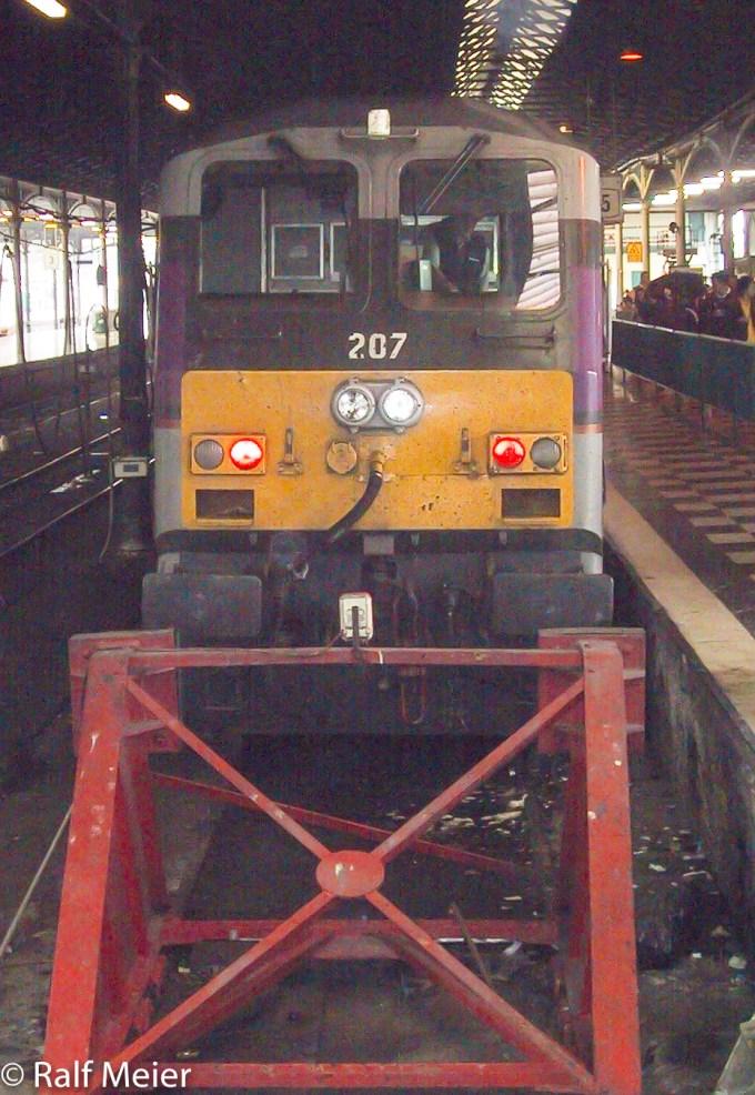 Irish Rail Diesel Locomotive 207