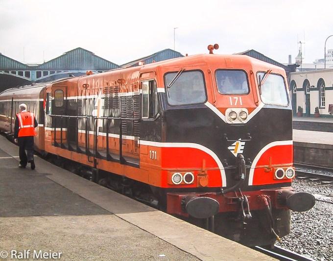 Irish Rail Diesel Locomotive