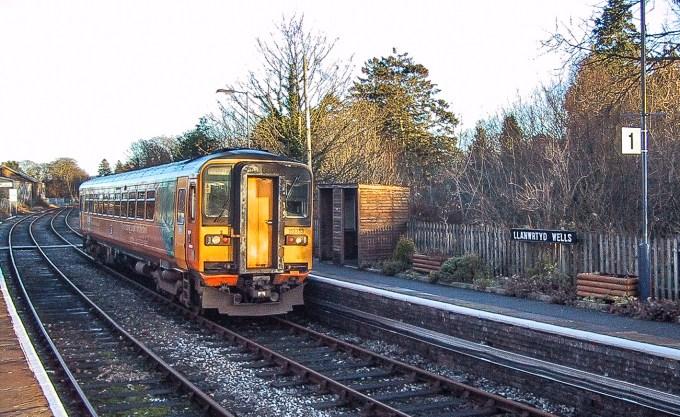 Heart of Wales Line DMU