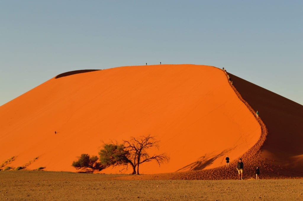 Sunrise at Dune 45 -- a Namibia road trip highlight
